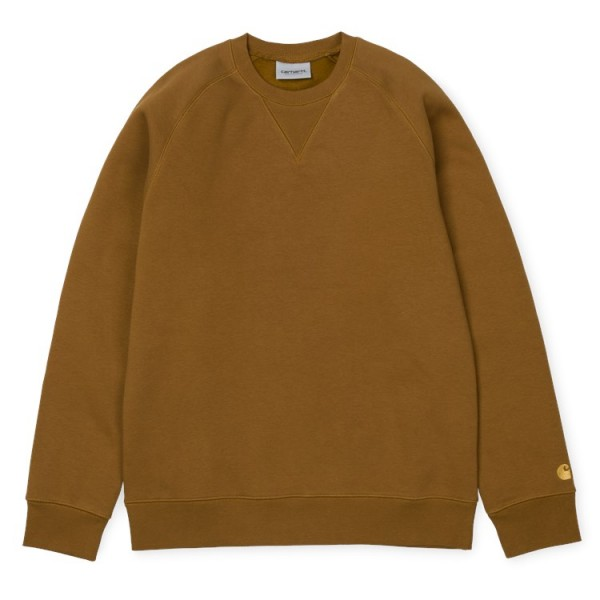 "Carhartt WIP Chase Sweat ""Hamilton Brown"" I026383"