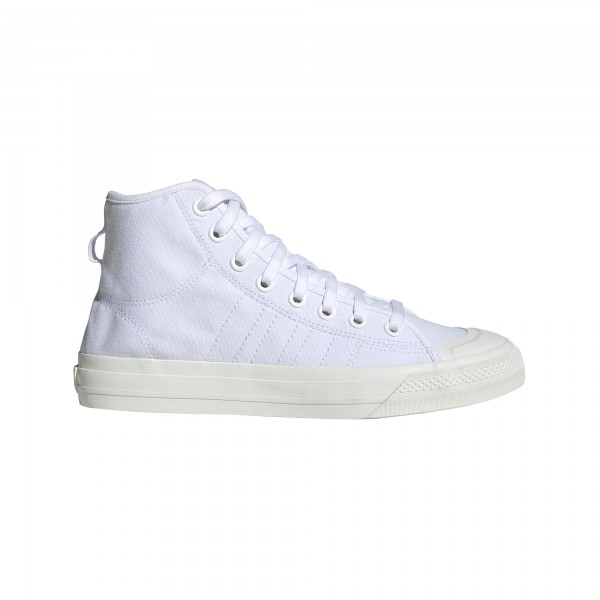 "adidas NIZZA HI RF ""Cloud White / Cloud White / Off White"" EF1885"