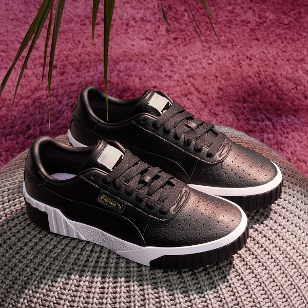 "Puma Cali ""Puma Black-Puma White"" 369155 03"