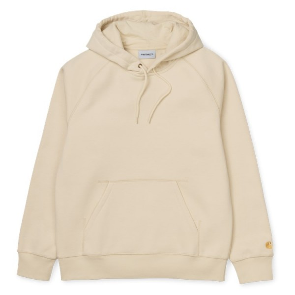"Carhartt WIP Hooded Chase Sweat ""Flour"" I026384"