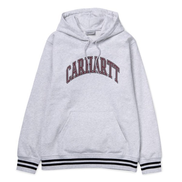 "Carhartt WIP Hooded Knowledge Sweat ""Ash heather"" I026411"