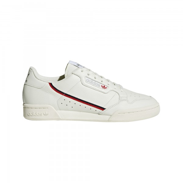 "adidas Continental 80 ""Beige / Off White / Scarlet"" B41680"