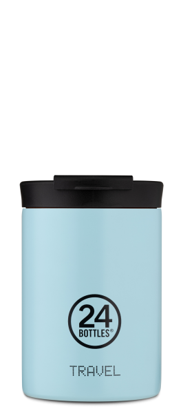 "24Bottles Travel Tumbler 350ml ""Cloud Blue"""