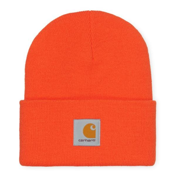 "Carhartt WIP Acrylic Watch Hat ""Safety Orange"" I020222"