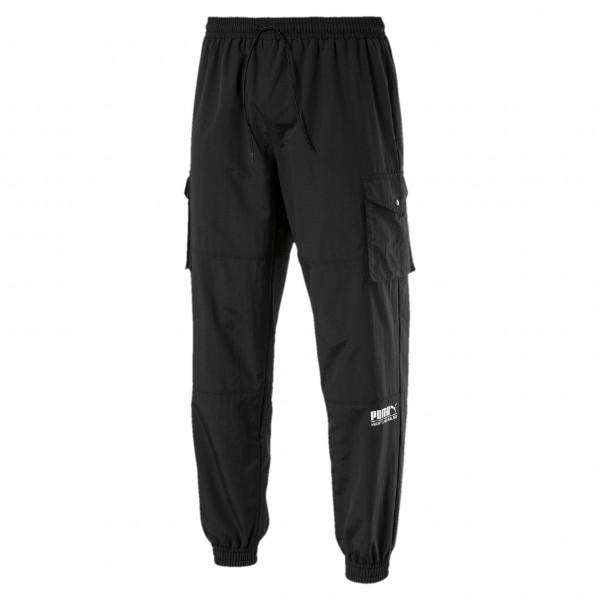 "Puma Sport Fashion Woven Pants ""Puma Black"" 596862 01"