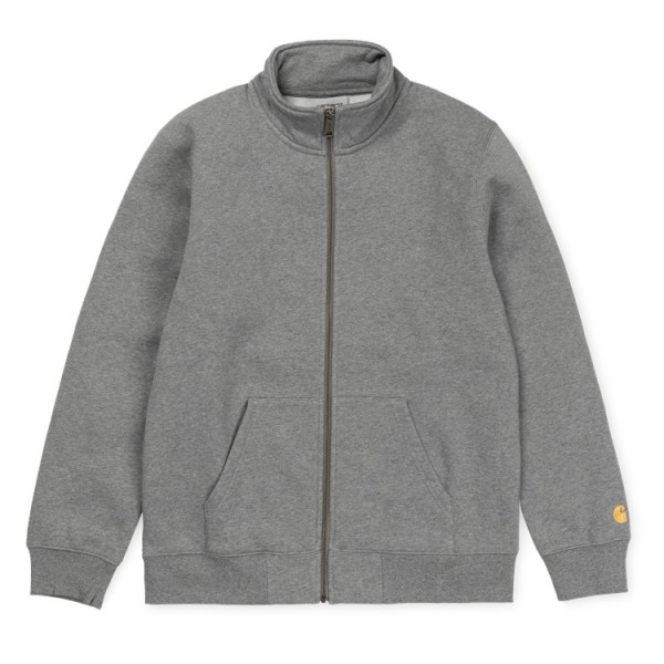 "Carhartt WIP Chase Neck Jacket ""Dark Grey Heather"" I026387"
