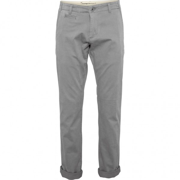 "Knowledge Cotton Chuck The Brain Stretch Chino ""Alloy"" 70192"