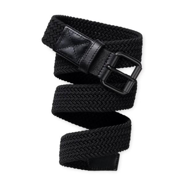 "Carhartt WIP Jackson Belt ""Black / Black"" I015807"
