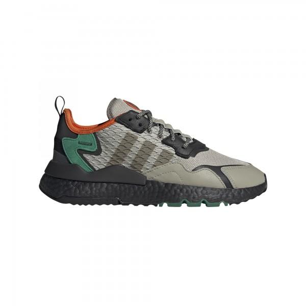 "adidas NITE JOGGER ""sesame/core black/bold green"" EE5569"