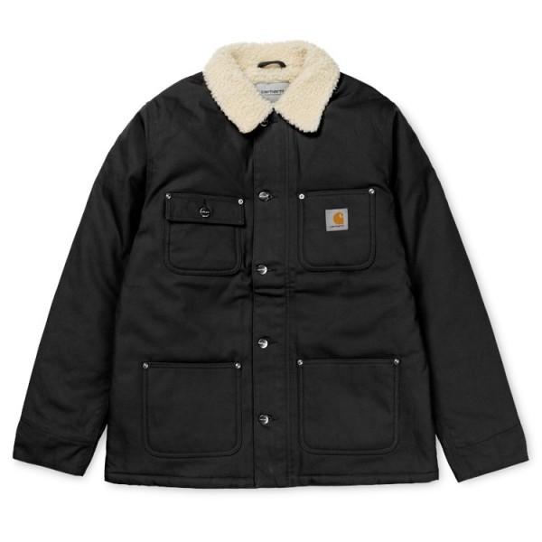 "Carhartt WIP Fairmount Coat ""Black rigid"" I025444"