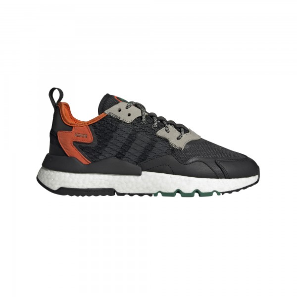 "adidas NITE JOGGER ""core black/grey six/orange"" EE5549"