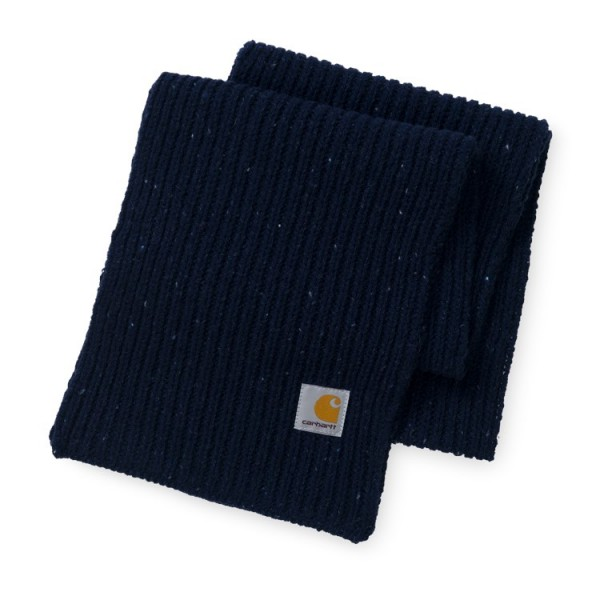 "Carhartt WIP Anglistic Scarf ""Dark Navy Heather"" I015469"