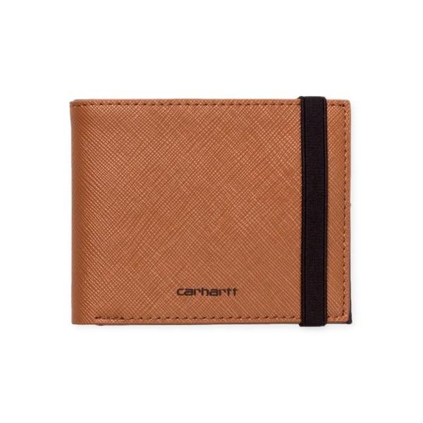 "Carhartt WIP Coated Billfold Wallet ""Hamilton Brown / Black"" I026210"