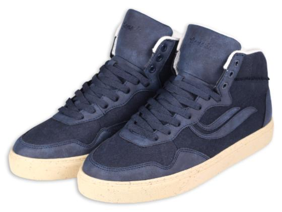 """Genesis G-Soley Mid """"M-Suede / Upcycled Gore Navy"""" 1003920"""