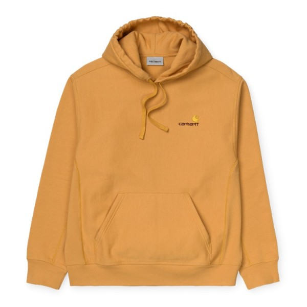 "Carhartt WIP Hooded American Script Sweat ""Winter Sun"" I028279"
