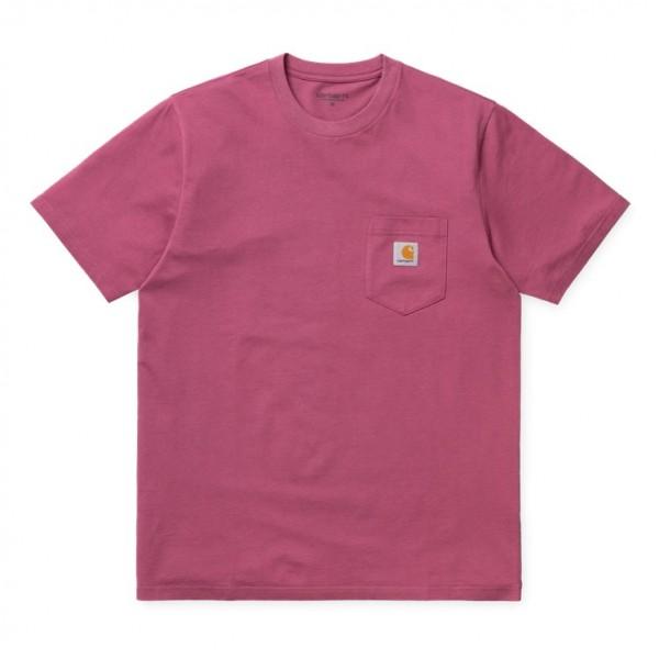 """Carhartt WIP S/S Pocket T-Shirt """"Fuchsia"""" I022091"""