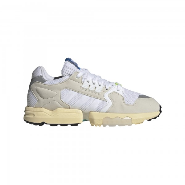 """adidas ZX Torsion """"Cloud White / Raw White / Easy Yellow"""" EE4791"""