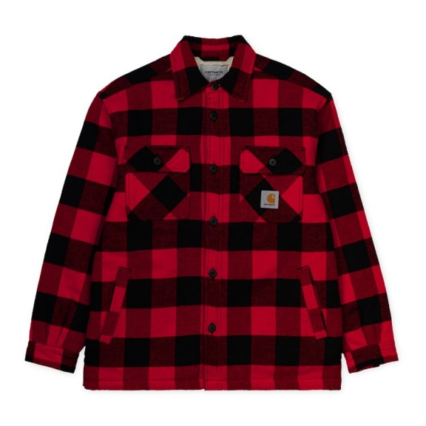 "Carhartt WIP Merton Shirt Jac""Merton Check/Cardinal"" I026818"