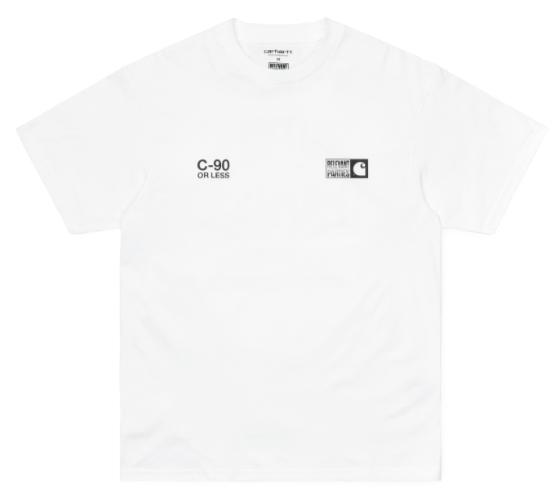 "Carhartt WIP S/S Relevant Parties Vol 1 T-Shirt ""White"" I029371"