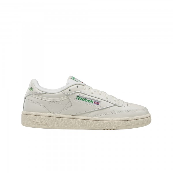 "REEBOK Club C 85 Vintage ""CHALK/GLEN GREEN/PAPERWHITE/EXCELLENT RED"" BS8242"