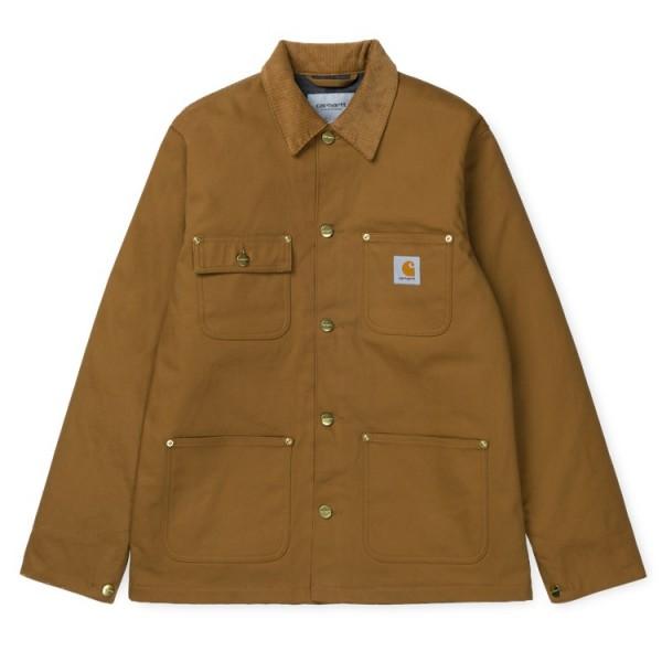"Carhartt WIP Michigan Coat ""Hamilton Brown rigid"" I015261"