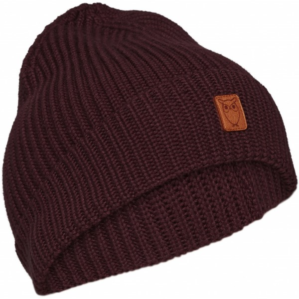 "Knowledge Cotton Ribbing Hat ""FIG"" 82214"