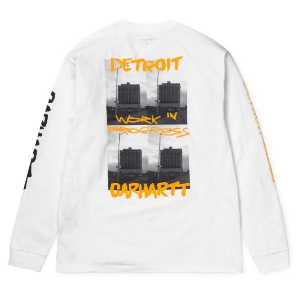 "Carhartt WIP L/S Rebirth T-Shirt ""White"" I027113"