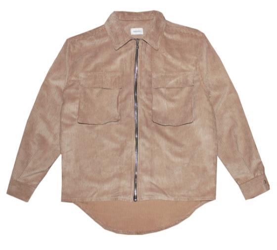 Corduroy Zip Shirt