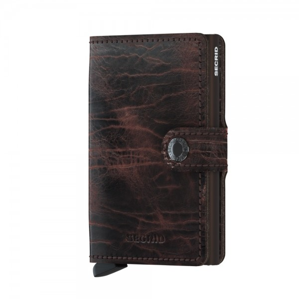 "SECRID Miniwallet Dutch Martin ""Cacao-Brown"" 8925"
