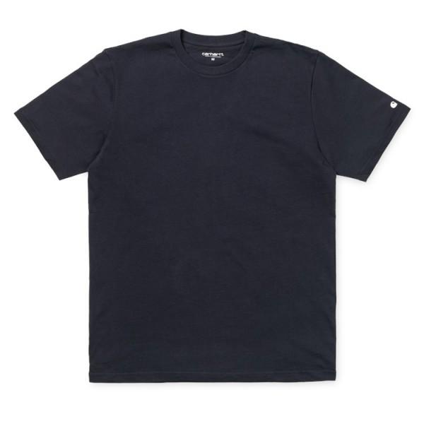 """Carhartt WIP S/S Base T-Shirt """"Dark Navy / White"""" I023855"""