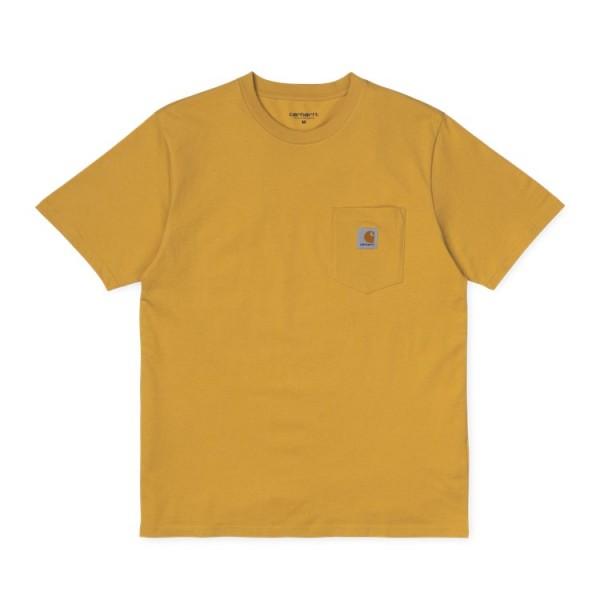 """Carhartt WIP S/S Pocket T-Shirt """"Colza"""" I022091"""