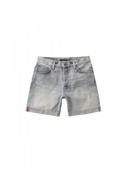 "Nudie Jeans Josh Shorts ""Light Glow"" 113355"