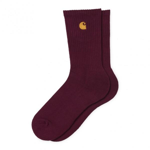 "Carhartt WIP Chase Socks ""Bordeaux"" I026527"