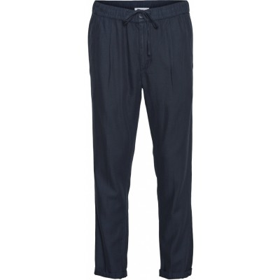 """Knowledge Cotton Birch loose lyocell pant """"total eclipse"""" 70196"""