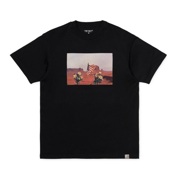 "Carhartt WIP S/S Matt Martin Flags T-Shirt ""Black"" I027130"