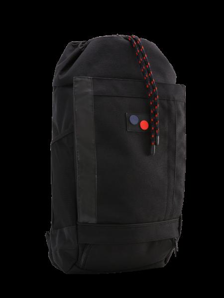 "pinqponq Blok Large Backpack ""Licorice Black Bold"" PPC-BLK-006-801"