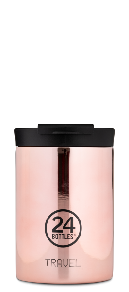 "24Bottles Travel Tumbler 350ml ""Rose Gold"""