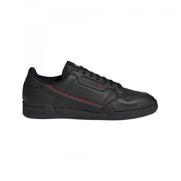 "adidas Continental 80 ""core black/scarlet/collegiate green"" EE5343"