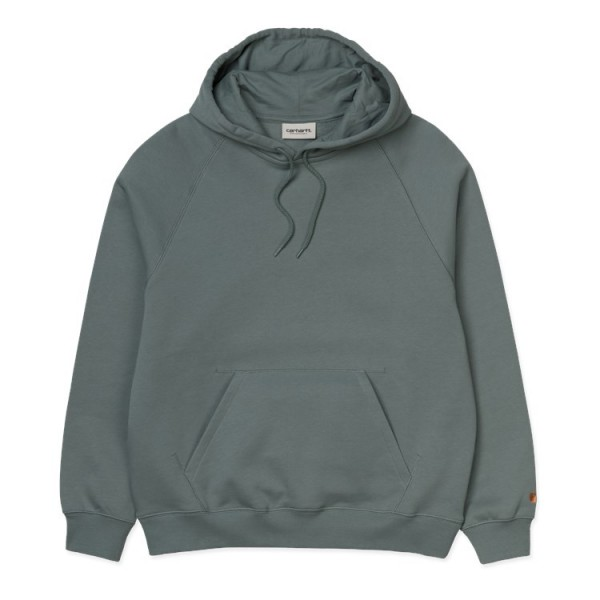 "Carhartt WIP W` Chasy Sweat ""Cloudy / Gold"" I027481"