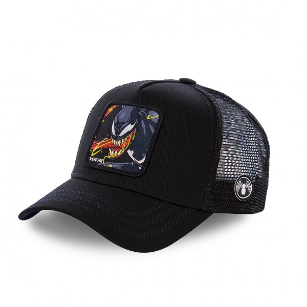 "CAPSLAB Baseball Cap VENOM ""Black"" CL/MAR/1/VEN2"