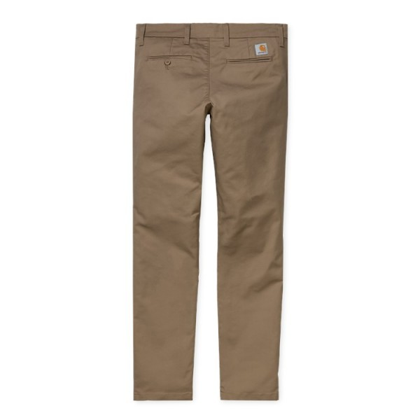 "Carhartt WIP Sid Pant ""Leather rinsed"" I003367"