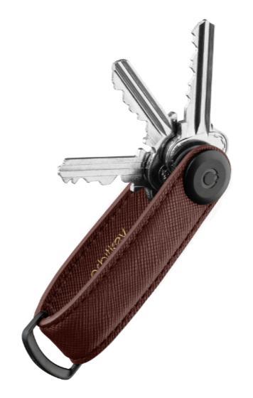 Saffiano Leather Key Organiser