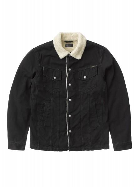 """Nudie Jeans Lenny Black Worn Jacket """"B01 / Black"""" 160684"""
