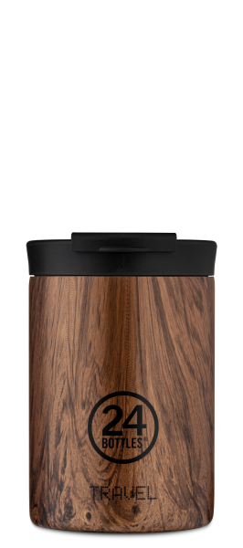 "24Bottles Travel Tumbler 350ml ""Sequoia Wood"""