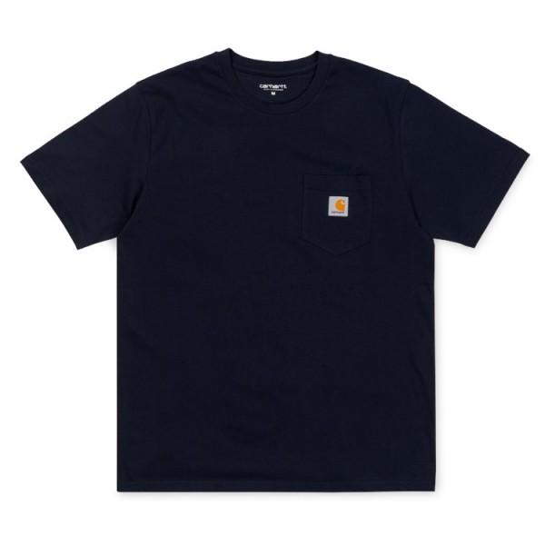 "Carhartt WIP S/S Pocket T-Shirt ""Dark Navy"" I022091"