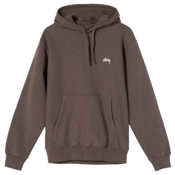 "Stussy Stock Logo Hood ""brown"" 118364 / 1001"