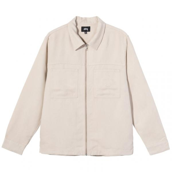 "Stussy Mikro Suede Work Shirt ""Natural"" 1110134 / 1002"
