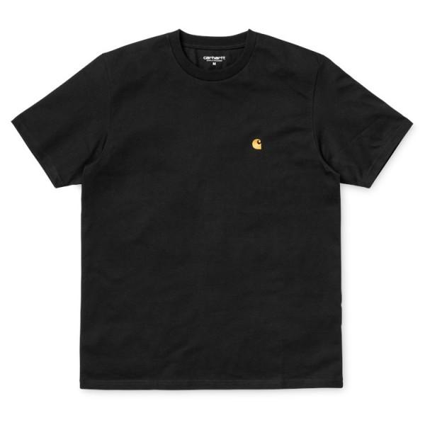 "Carhartt WIP S/S Chase T-Shirt ""Black"" I026391"