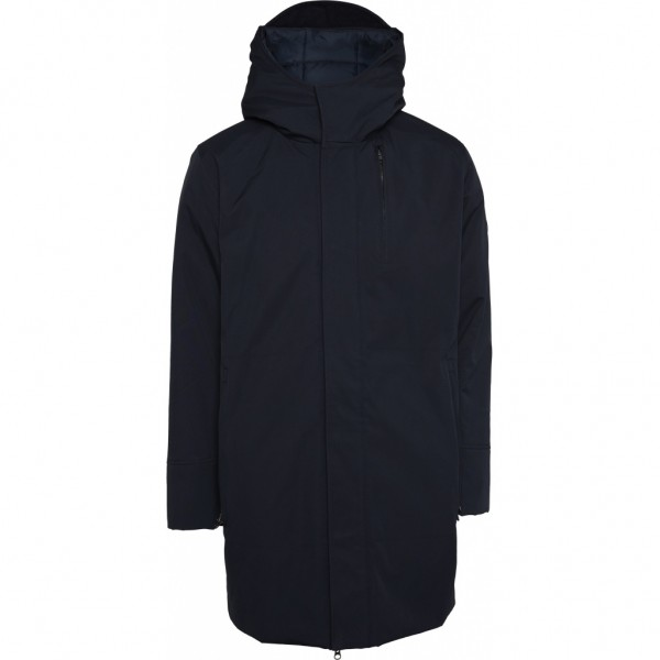 """Knowledge Cotton Atlantic long soft shell jacket """"Total Eclipse"""" 92373"""