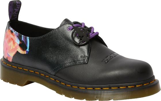 "Dr. Martens 1461 Black Sabbath ""Multi + Black"" 26316001"